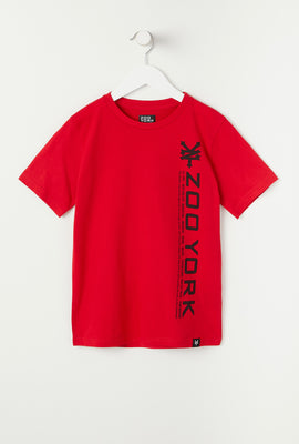 T-Shirt Junior Avec Logo Zoo York