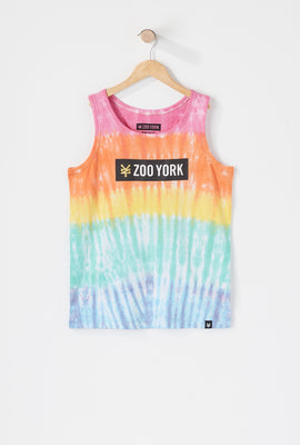 Zoo York Boys Tie Dye Tank Top