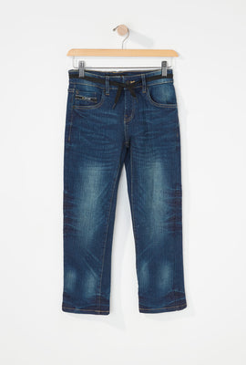 Zoo York Boys 5-Pocket Stretch Slim Jeans