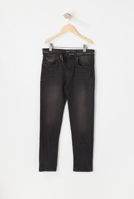 Jean Filiforme Noir Zoo York Junior
