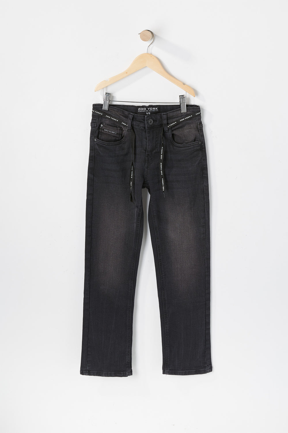 Zoo York Youth Slim Black Jeans Pure Black