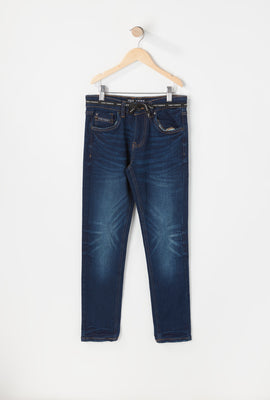 Zoo York Youth Skinny Dark Blue Jeans