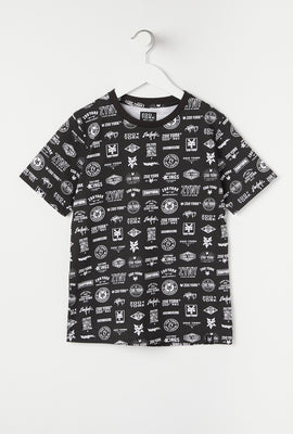 T-Shirt Junior Avec Logos Zoo York