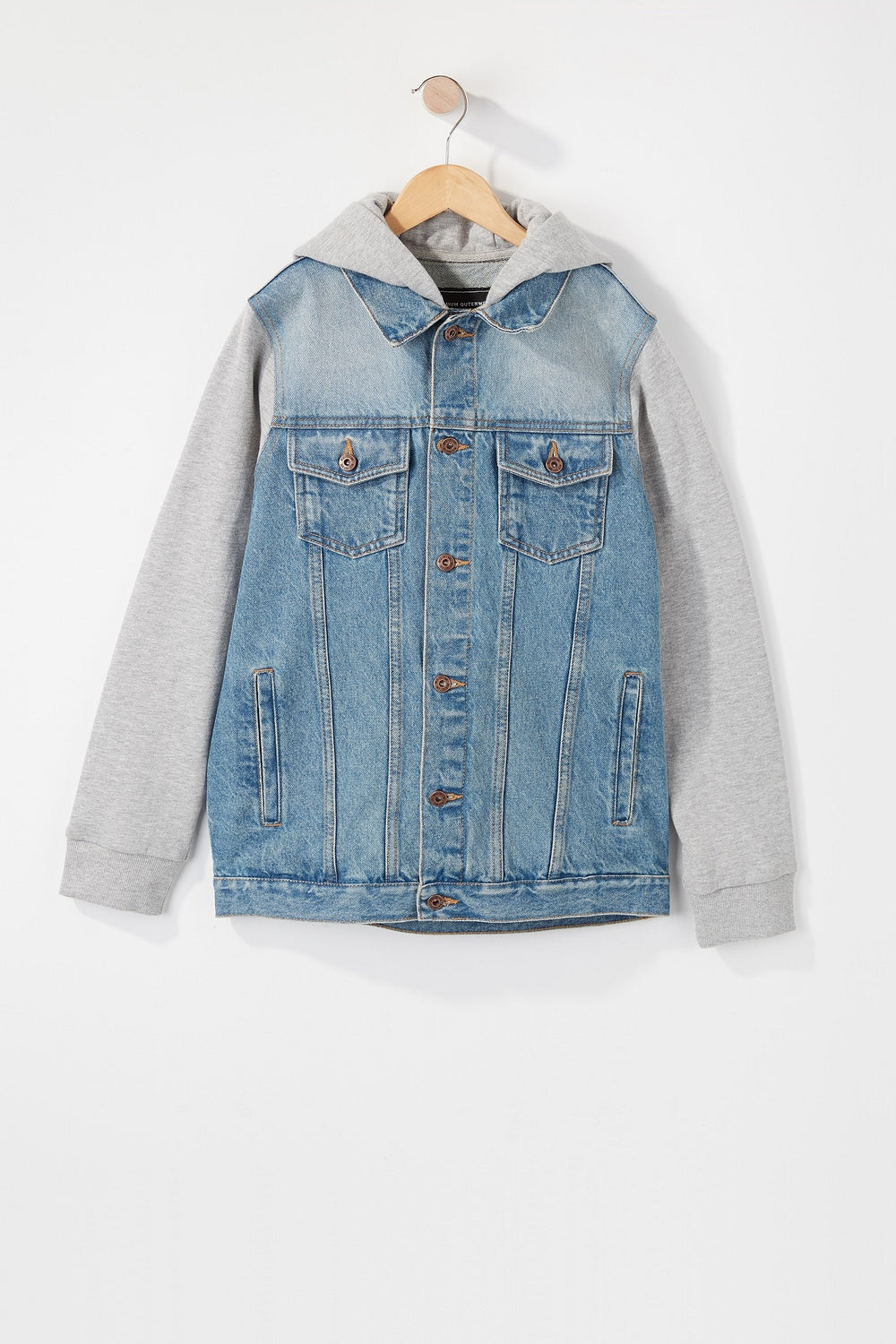 Manteau En Denim West49 Junior Bleu denim