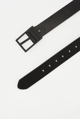 Zoo York Boys Black Faux Leather Belt