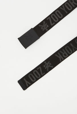Zoo York Boys Black Cotton Belt