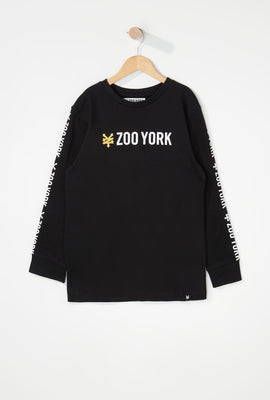 Zoo York Boys Classic Logo Long Sleeve