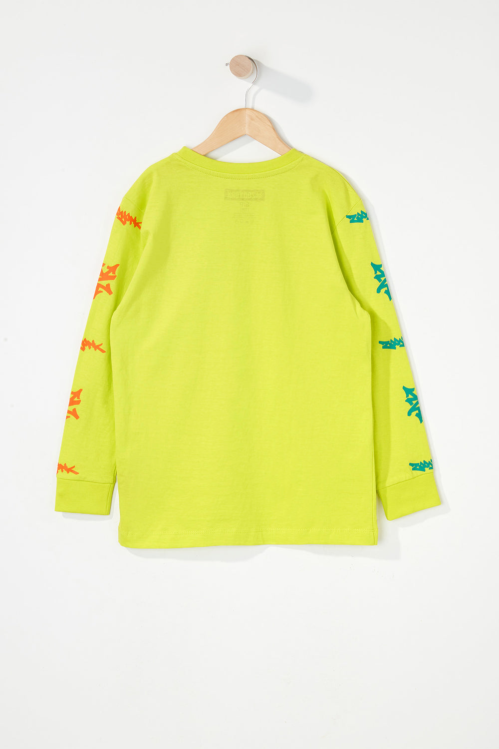 Zoo York Boys Practice Truth Long Sleeve Shirt Yellow