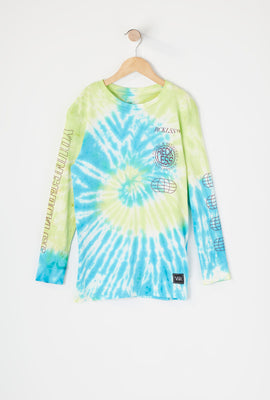 Young & Reckless Boys Tie-Dye Long Sleeve