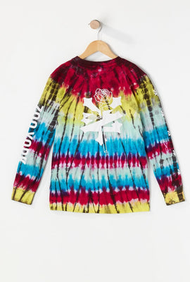 Zoo York Youth Tie-Dye Long Sleeve Top