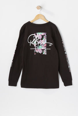 Young & Reckless Youth Neon Leaves Long Sleeves