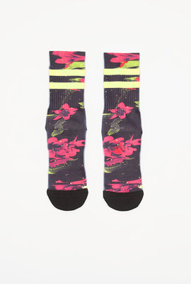 Young & Reckless Boys Neon Crew Socks