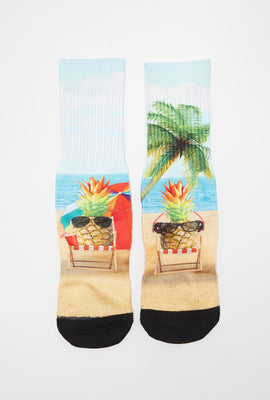Zoo York Boys Graphic Crew Socks
