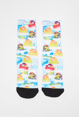 Zoo York Youth Graphic Crew Socks