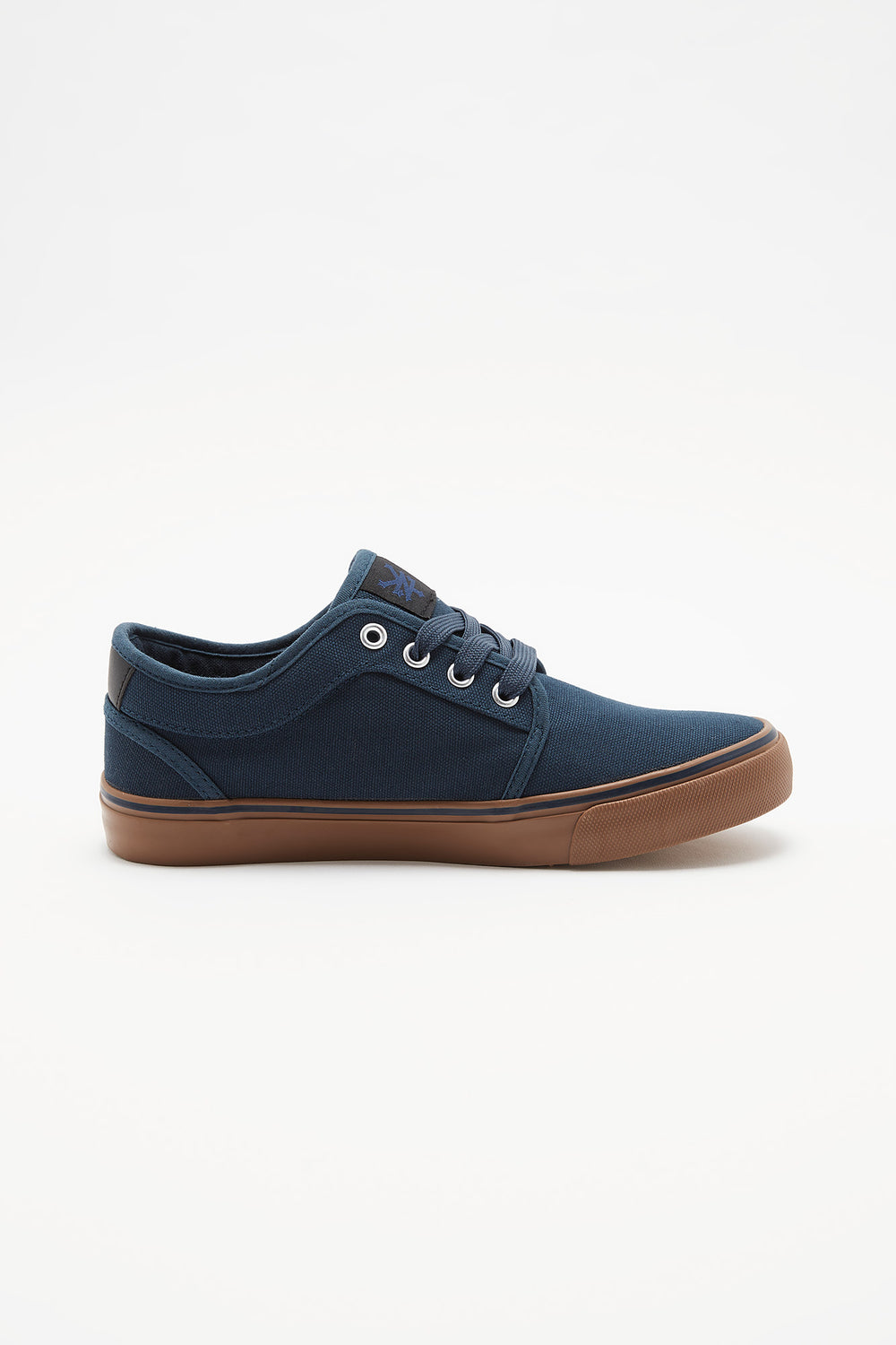 Zoo York Boys Lace-Up Canvas Skate Shoes Navy