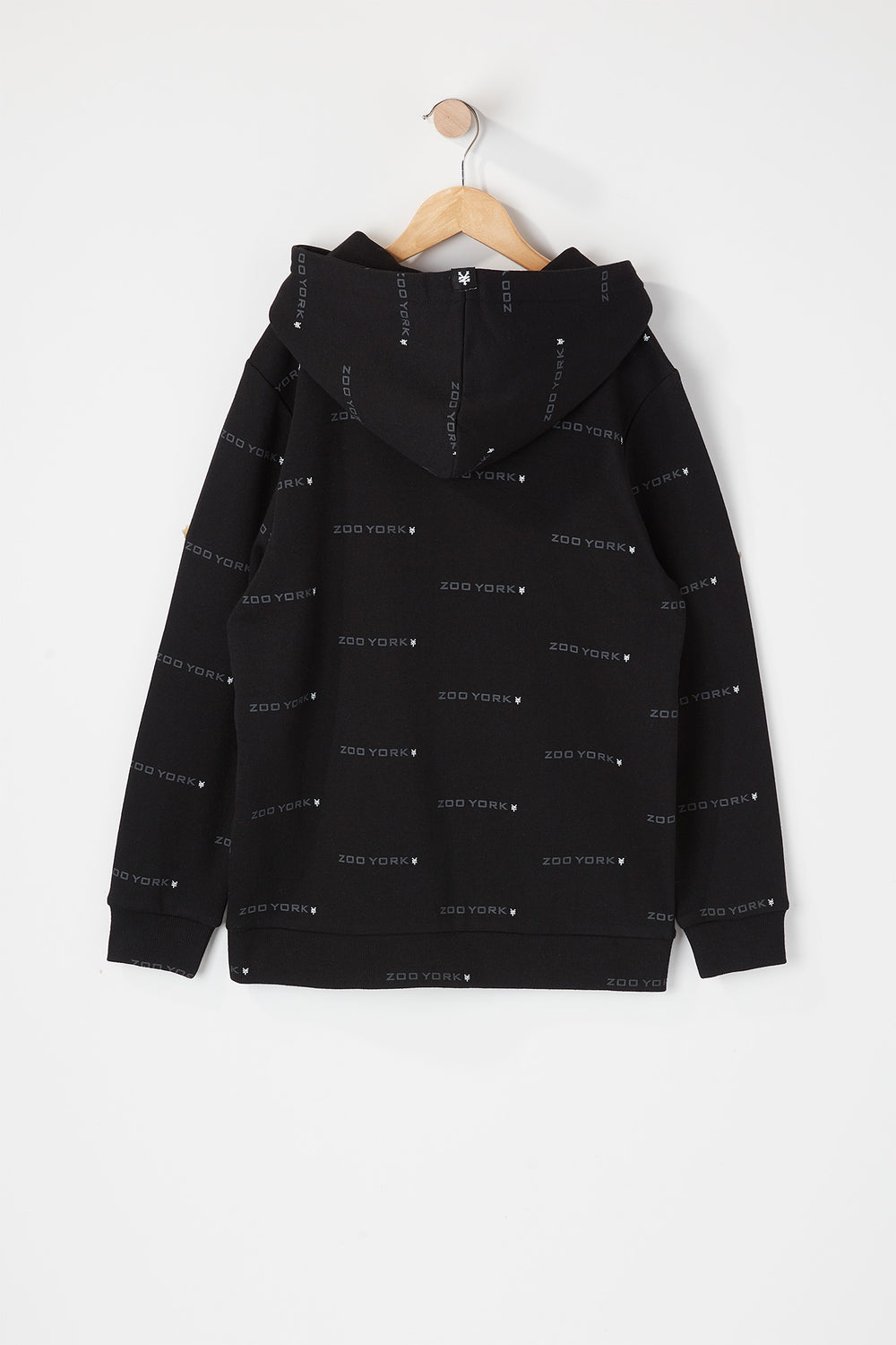 Zoo York Youth Chenille Logo Hoodie Black