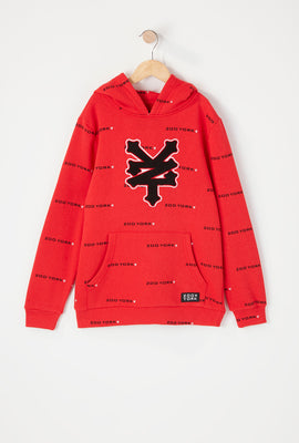 Zoo York Youth Chenille Logo Hoodie