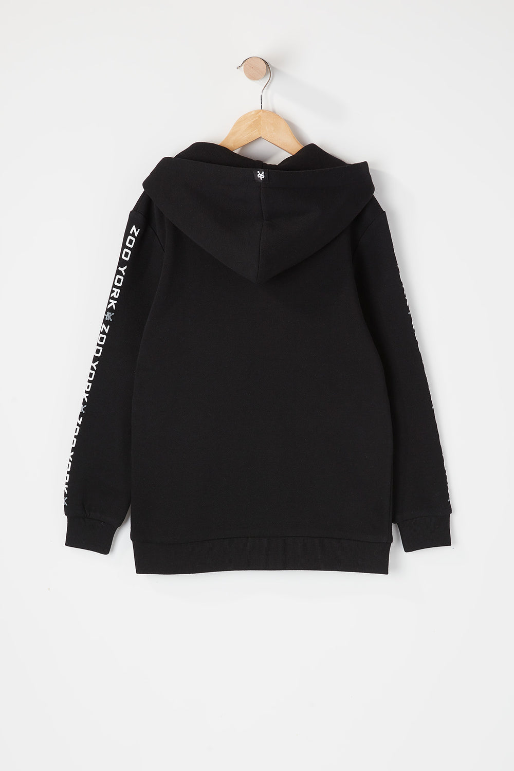Zoo York Youth Box Logo Popover Hoodie Black