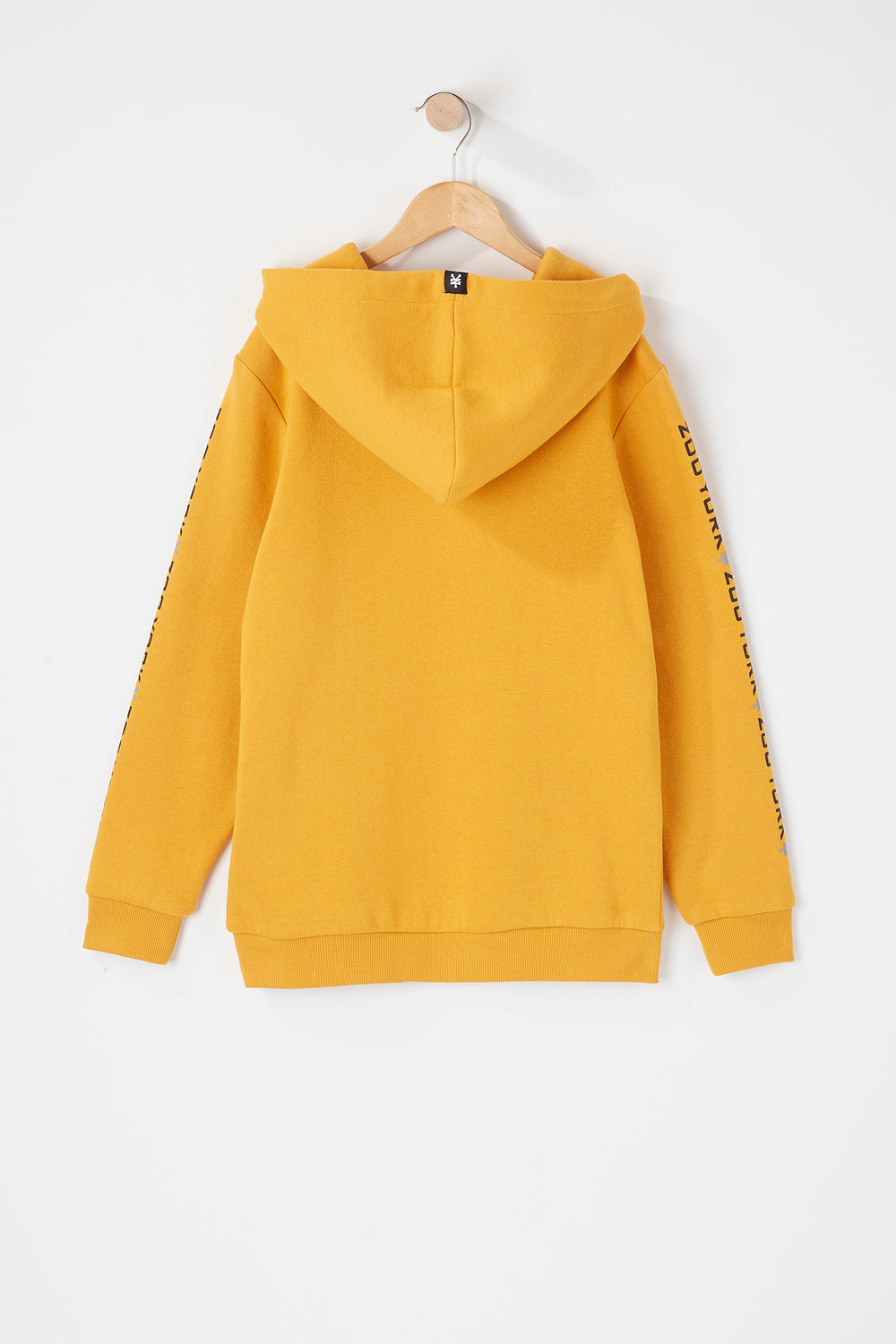 Zoo York Youth Box Logo Popover Hoodie Gold