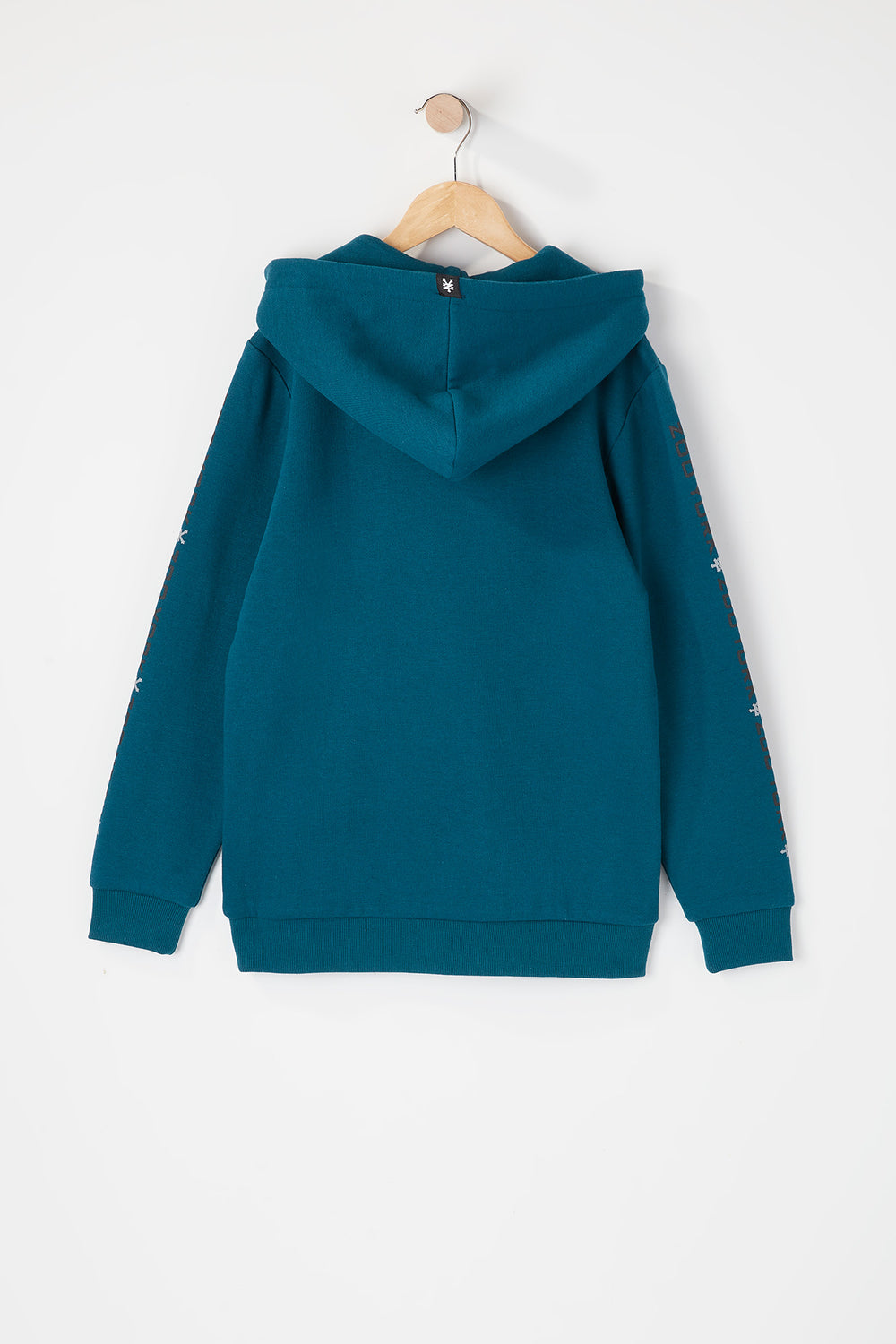 Zoo York Youth Box Logo Popover Hoodie Teal