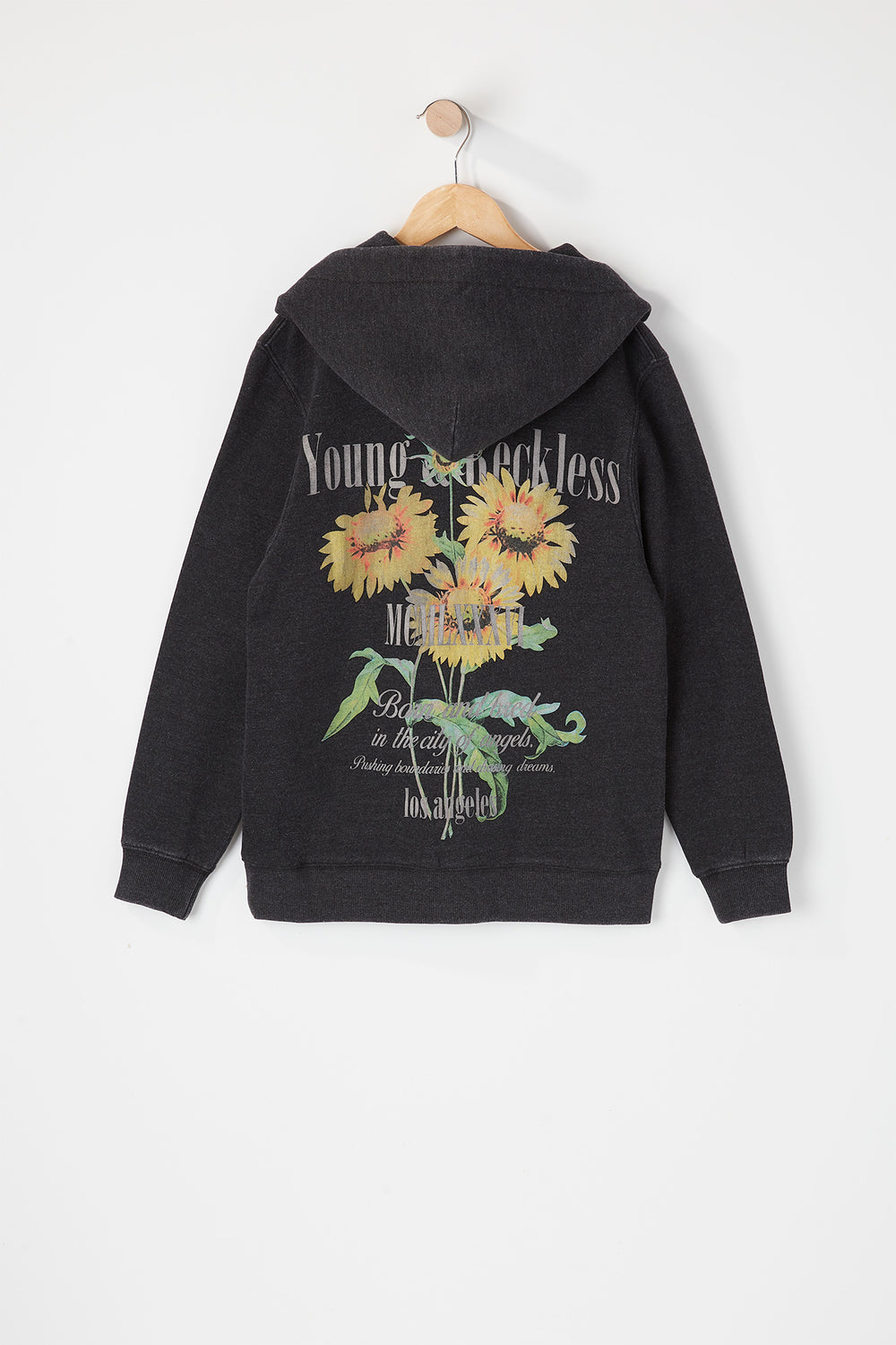 Young & Reckless Youth Vintage World Tour Hoodie Black