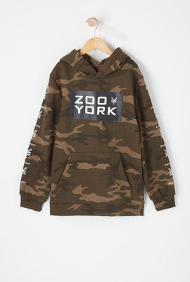 Zoo York Youth Camo Hoodie