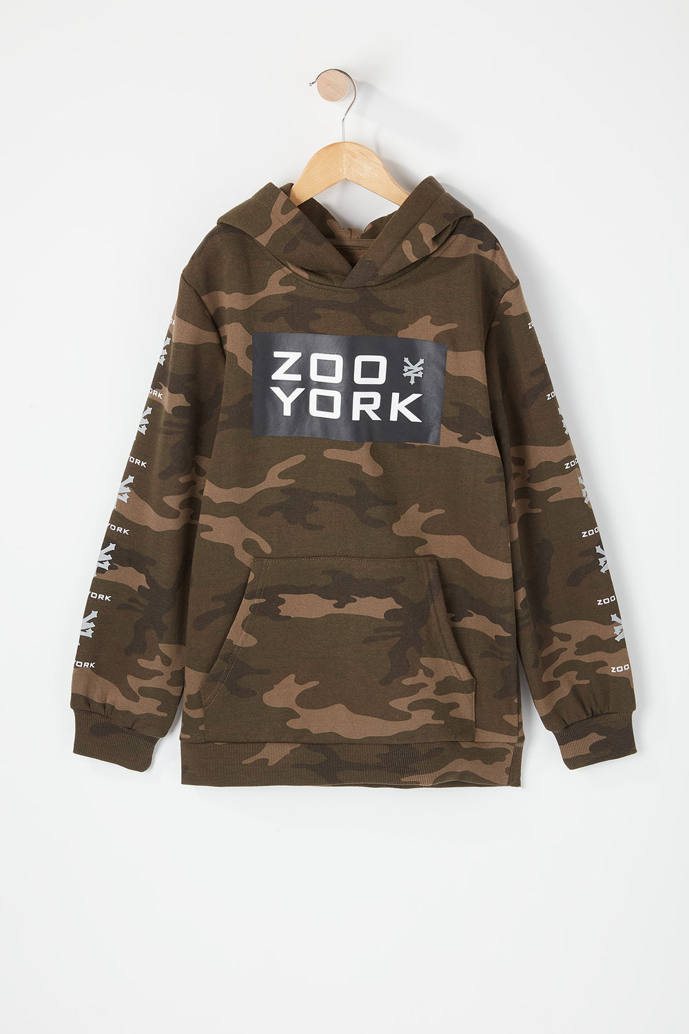 Haut À Capuchon Camouflage Zoo York Junior Camoufle