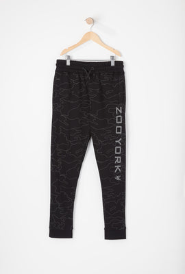 Zoo York Youth Reflective Camo Jogger