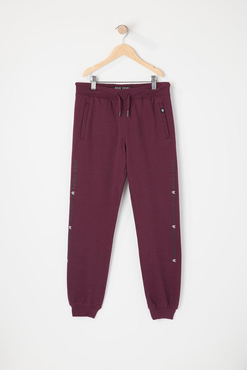 Jogger Junior Avec Logo Zoo York Aubergine