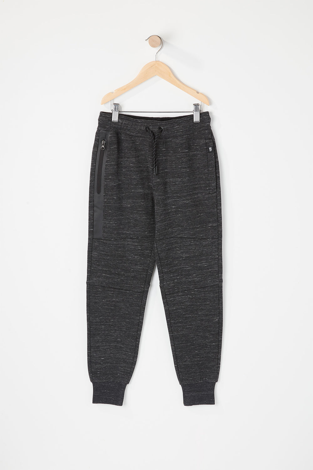 West49 Youth Zip Pocket Jogger Charcoal