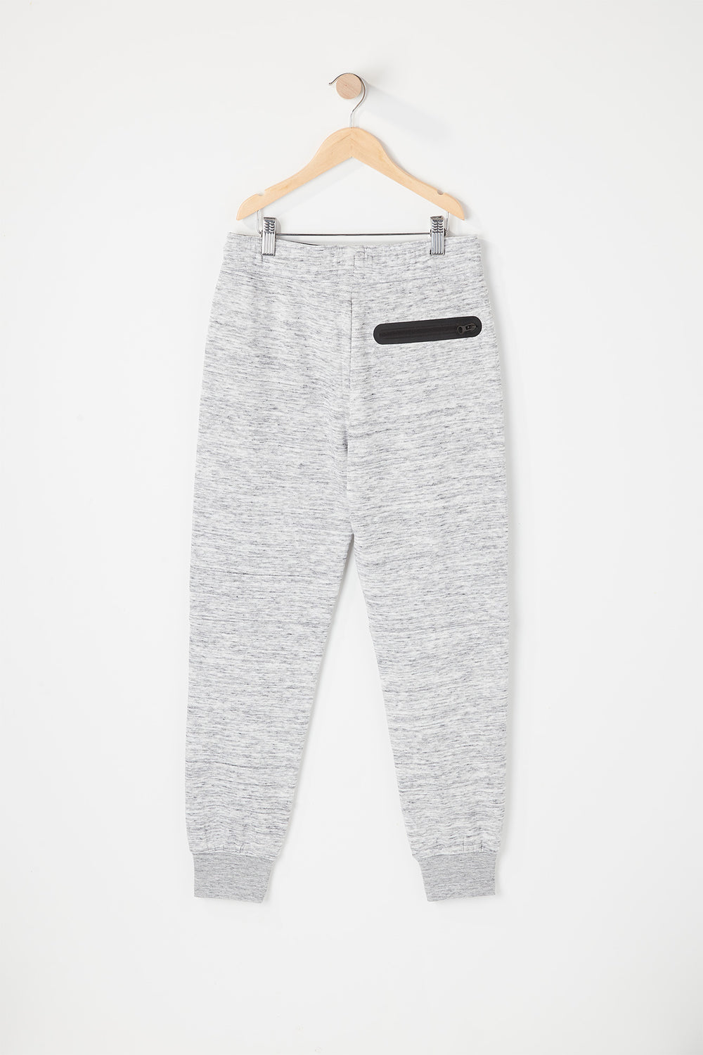 West49 Youth Zip Pocket Jogger Heather Grey