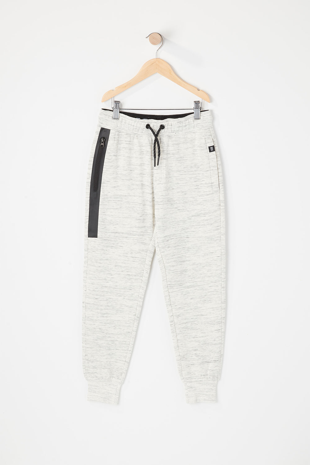 West49 Youth Zip Pocket Jogger Oatmeal