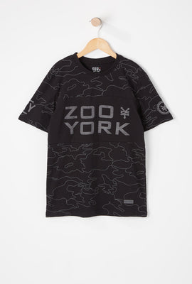 Zoo York Youth Reflective Camo T-Shirt