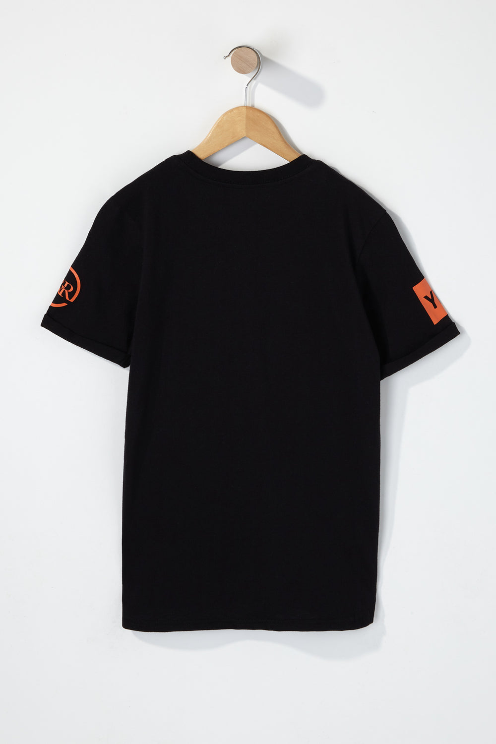 Young & Reckless Boys Colour Block Camo T-Shirt Black
