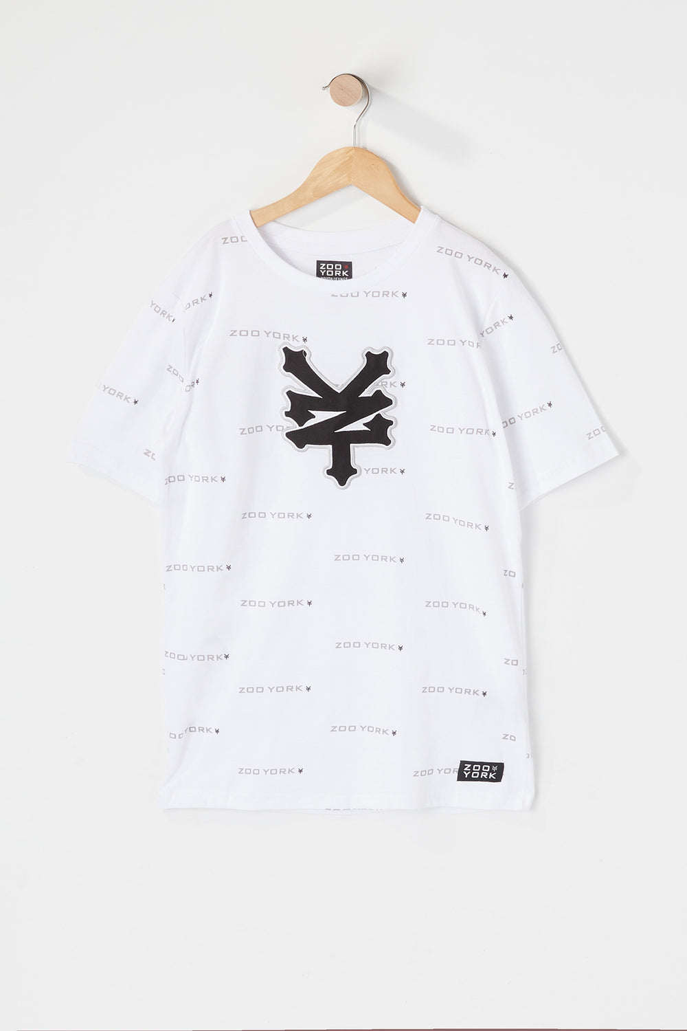 Zoo York Youth Patch Logo T-Shirt White