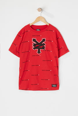 Zoo York Boys Patch Logo T-Shirt
