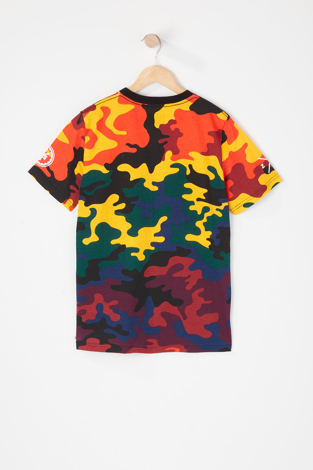 Zoo York Youth Rainbow Camo T-Shirt Multi