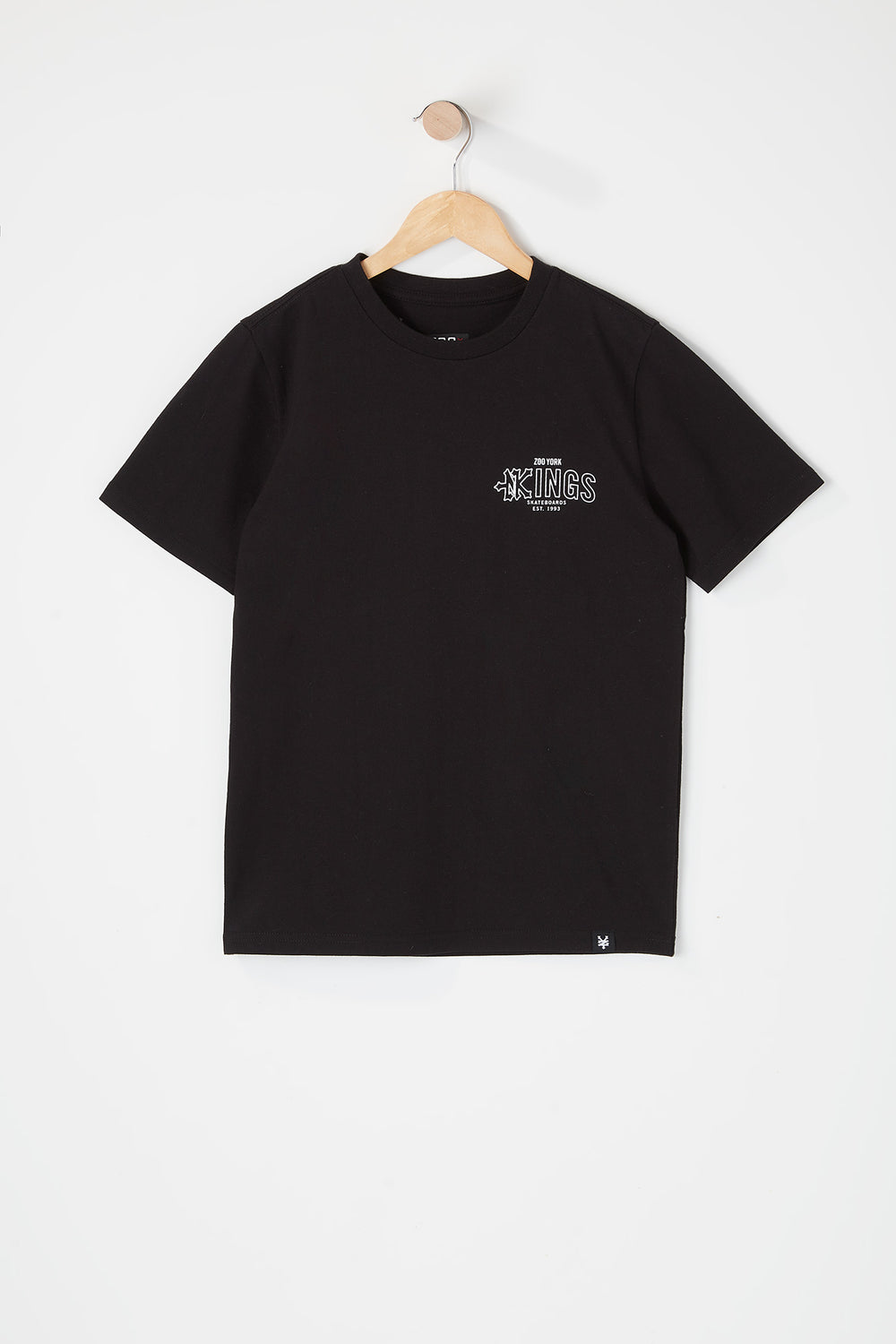 Zoo York Youth Kings T-Shirt Black