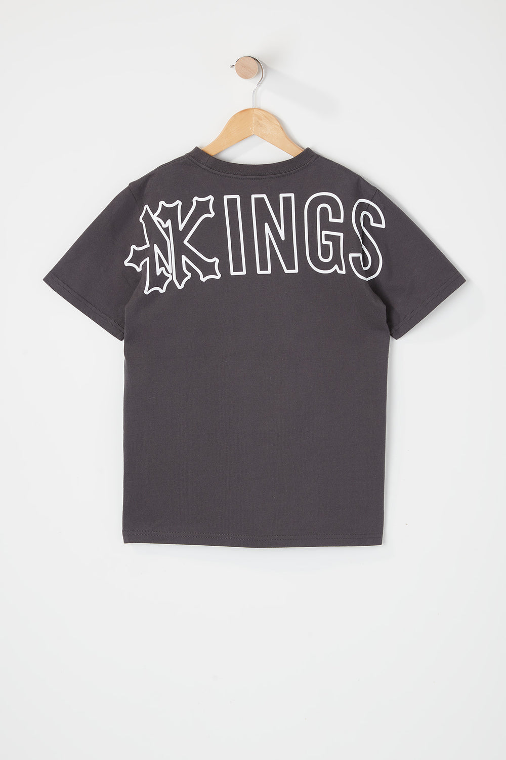 Zoo York Youth Kings T-Shirt Dark Grey