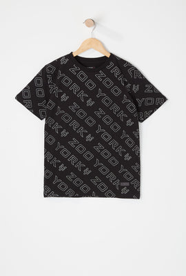 Zoo York Youth Reflective Logo T-Shirt