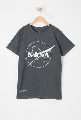 T-Shirt Imprimé Satellite NASA Junior