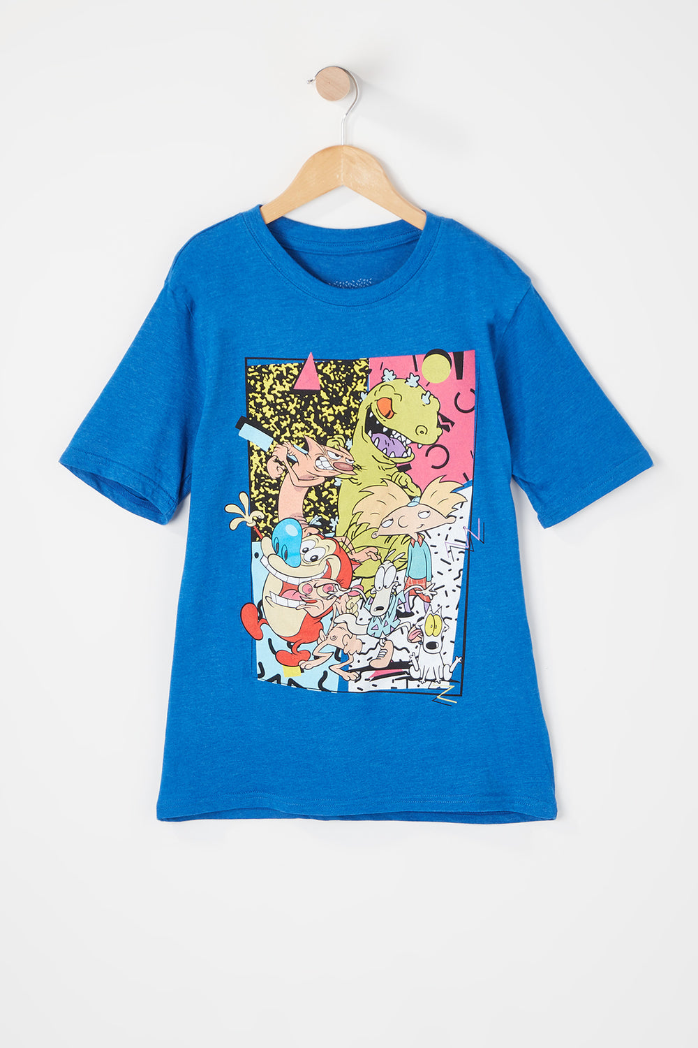 T-Shirt Nickelodeon All Stars Junior Bleu