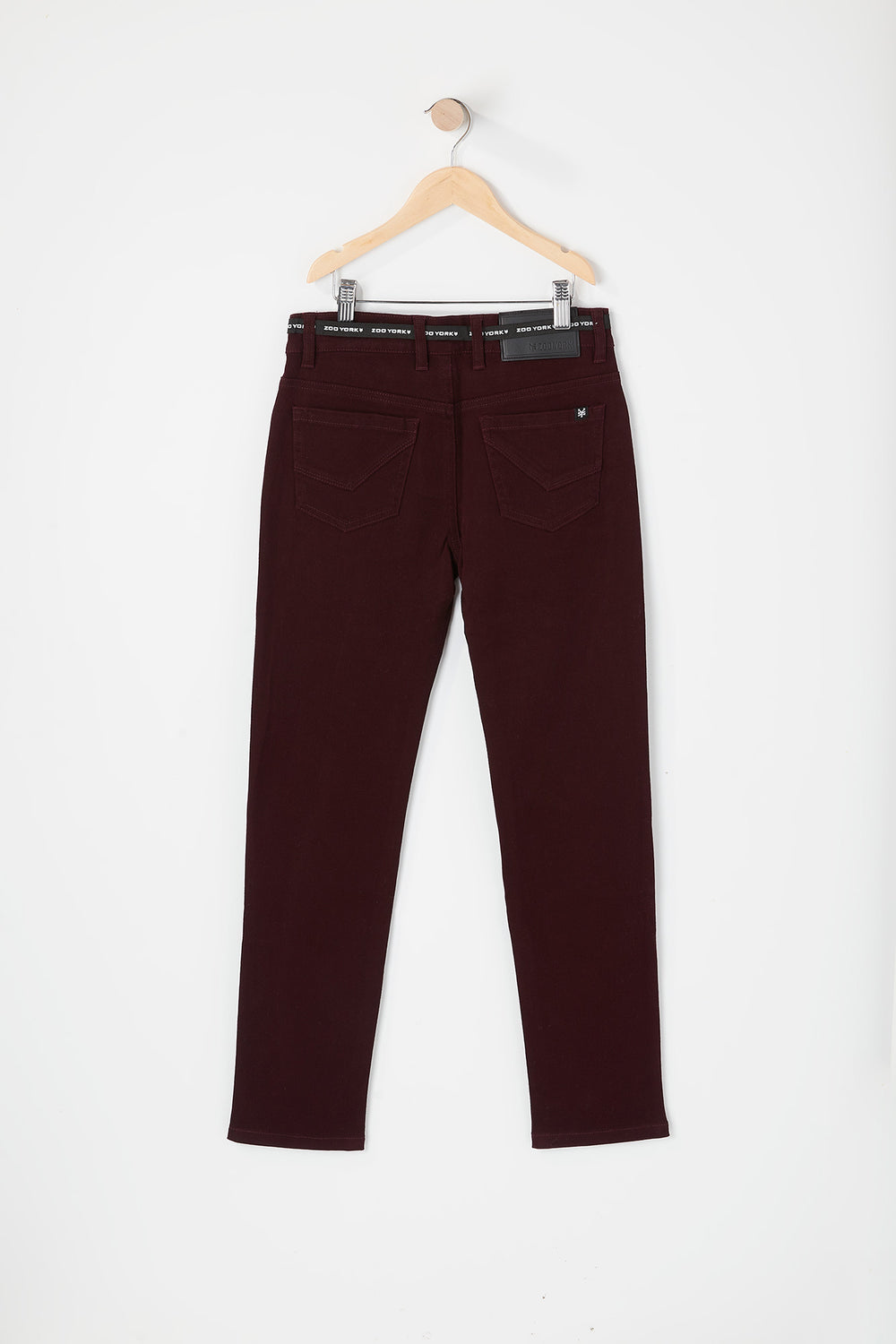 Zoo York Youth Skinny Jeans Burgundy