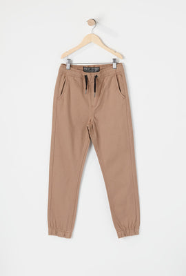 West49 Youth Solid Twill Basic Jogger