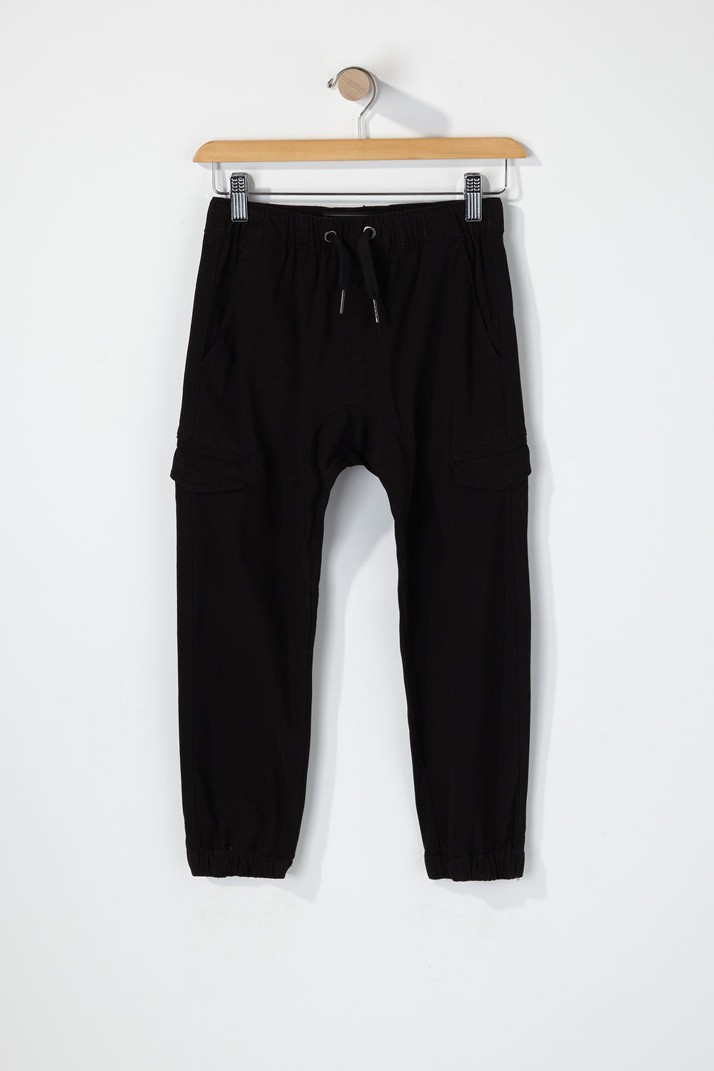 West49 Boys Cargo Jogger Black