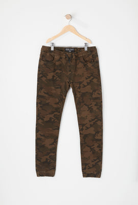 Jogger 5 Poches Camouflage Zoo York Junior