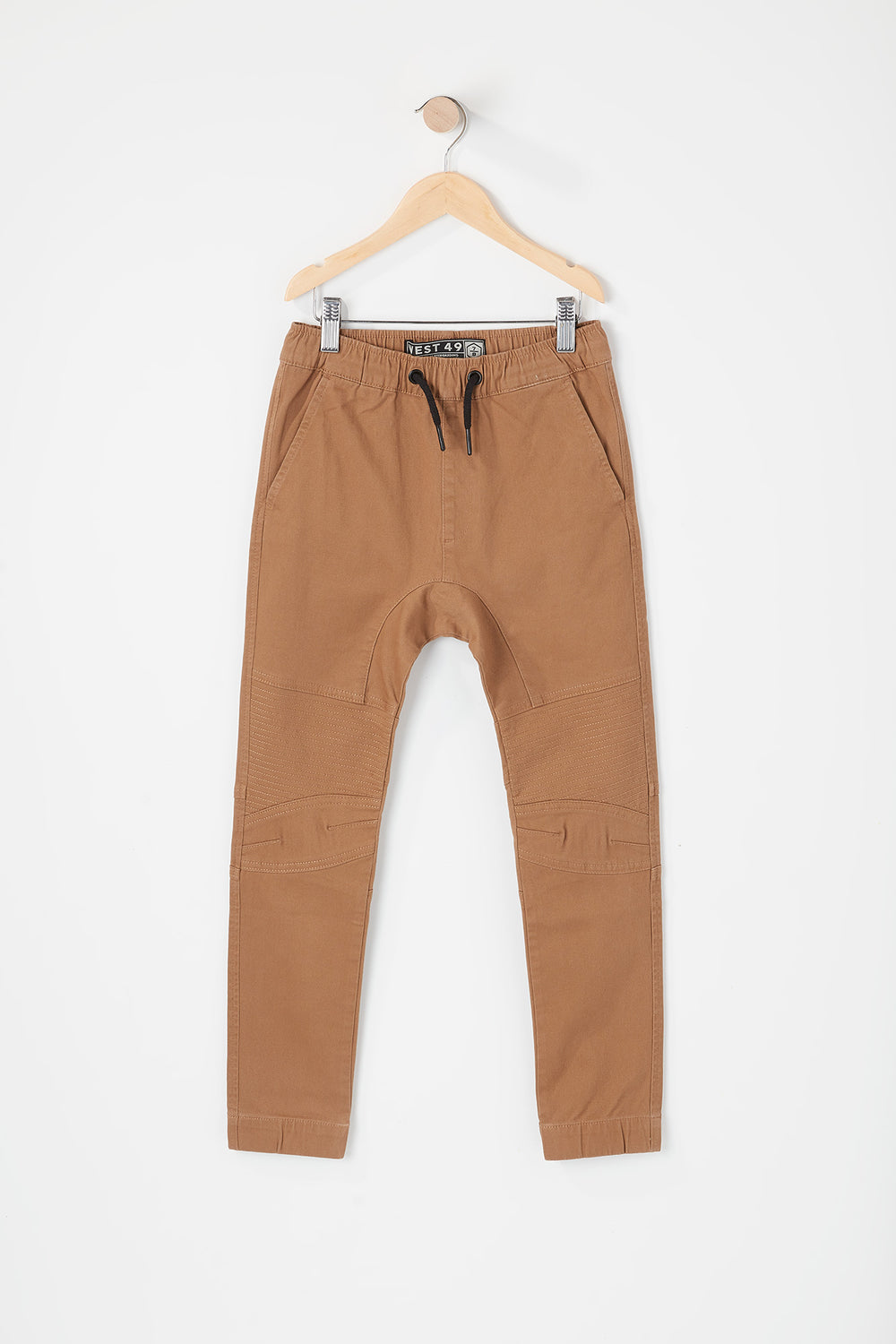 West49 Youth Moto Jogger Camel