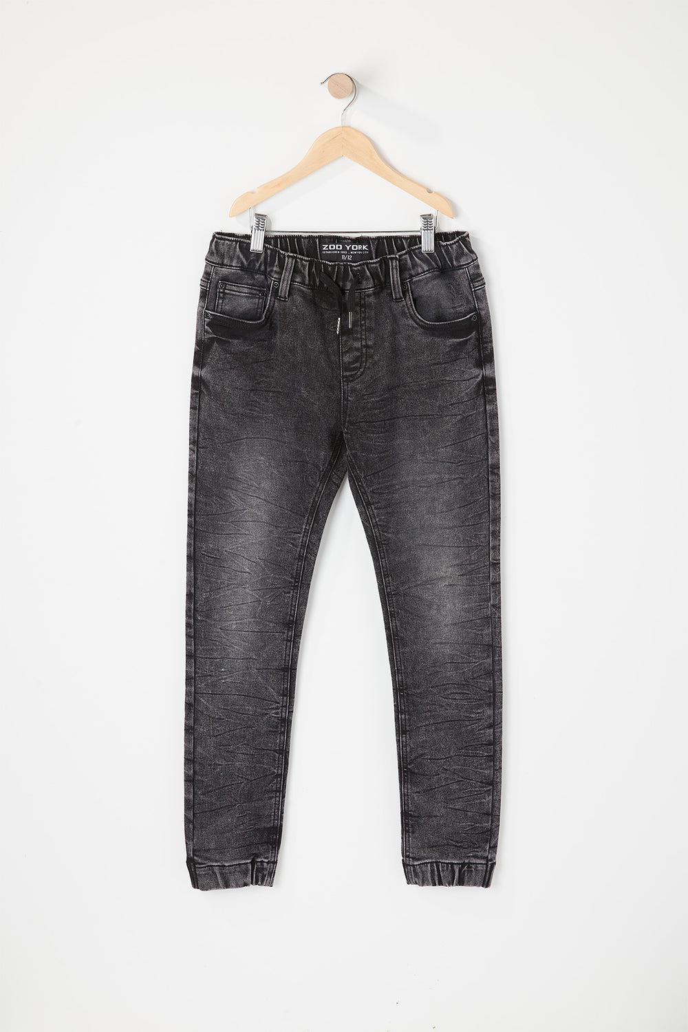 Zoo York Boys 5-Pocket Denim Jogger Black