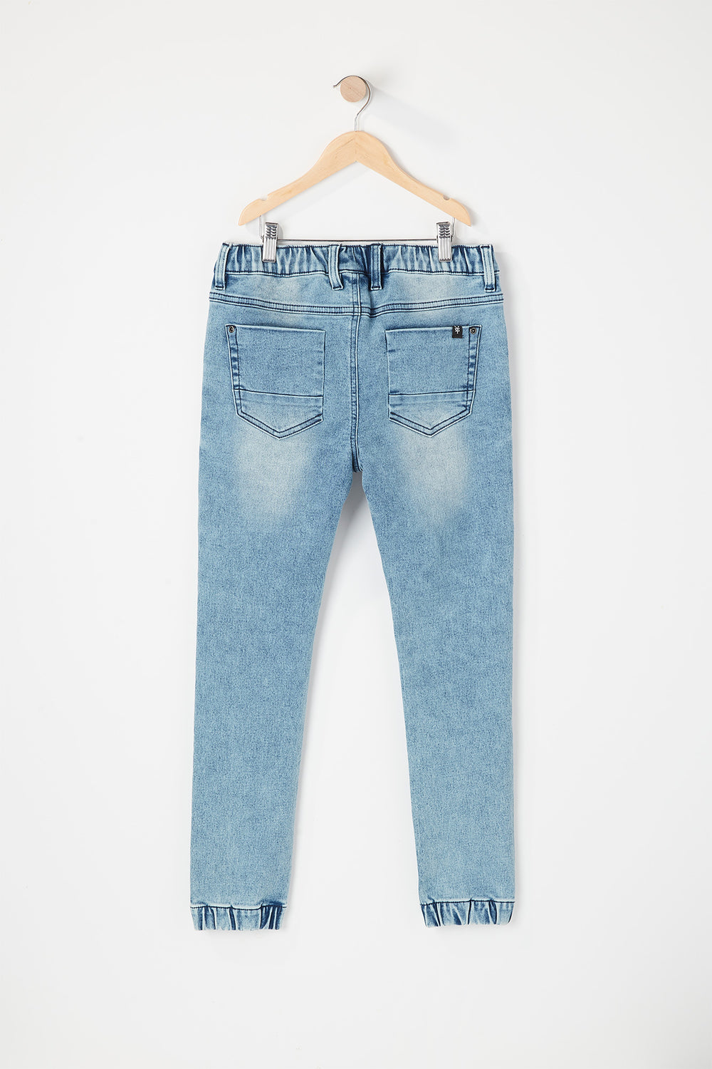 Zoo York Boys 5-Pocket Denim Jogger Light Denim Blue