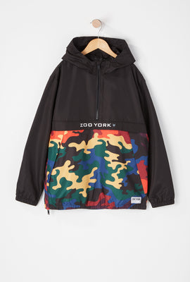 Anorak Bicolore Camouflage Muticolore Zoo York Junior